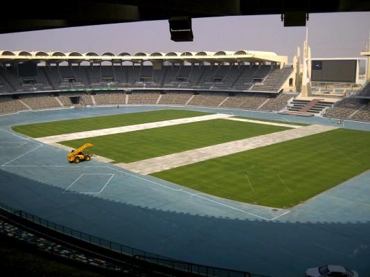 LibertyMat in Stadium