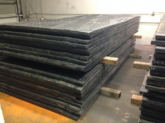 Used TuffTrak XL composite mats