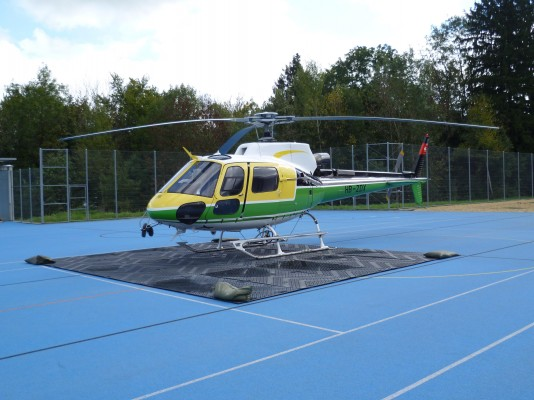 Helicopter on LibertyMat