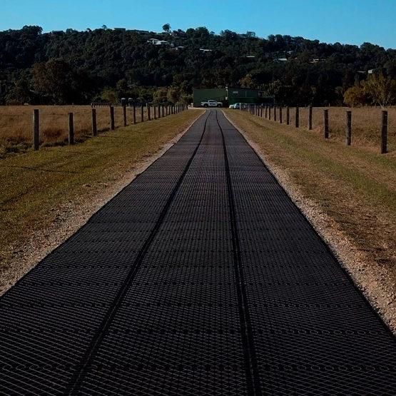 Diamond Grid for Roads