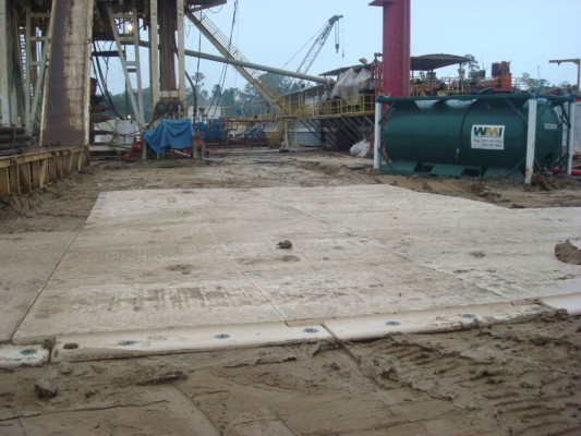 Megadeck composite matting