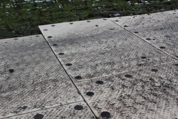 Signaroad composite mats